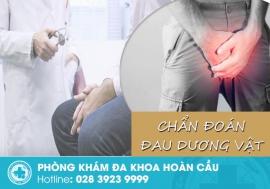 Chẩn đoán đau dương vật từ bác sĩ chuyên khoa