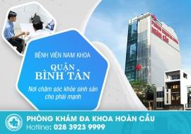 Bệnh viện nam khoa quận Bình Tân chất lượng