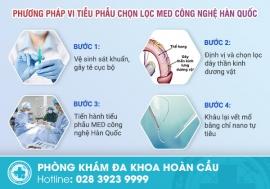 Vi tiễu phẫu chọn lọc MED công nghệ Hàn Quốc giải pháp mới trong trị xuất tinh sớm