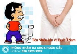 Cảnh giác với chứng tiểu nhiều lần và tiểu buốt ở nam giới