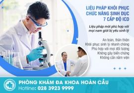 Ứng dụng Liệu pháp khôi phục chức năng sinh dục 7 cấp độ ICD trong điều trị yếu sinh lý